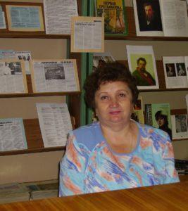 Любовь Анатольевна Мокрушина (с 1978 по 1990 год директор ЦБС)