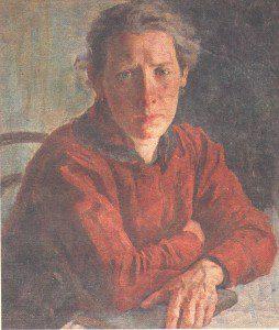 Portret-zhenyi-Marii-Dmitrievnyi.-1922--254x300