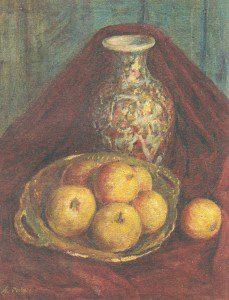 Яблоки и ваза. (1966 г.)
