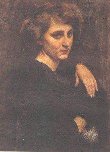Портрет актрисы (1913 г.) Холст. Масло. 67х50