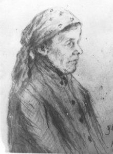 Портрет матери Степаниды Зотовны.