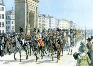 Взятие столицы Франции